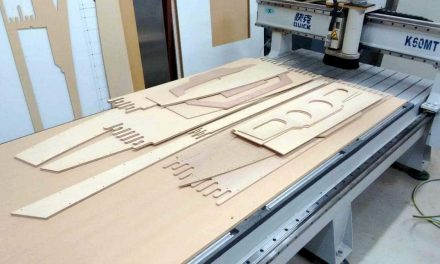 Boat building with a CNC router